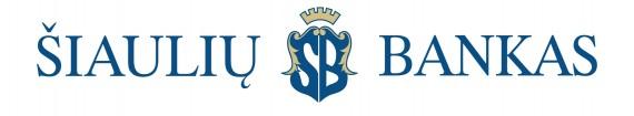 Šiaulių bankas logo bank link